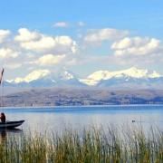 Anapia - kayak de Mer Lac Titicaca